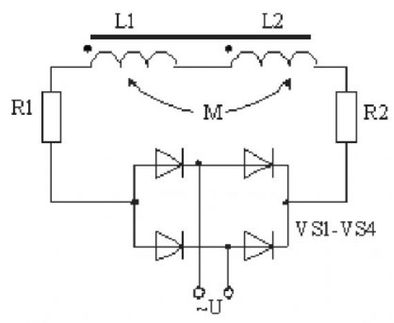 Модель электромагнита контактора серии КТУ-4Б 2