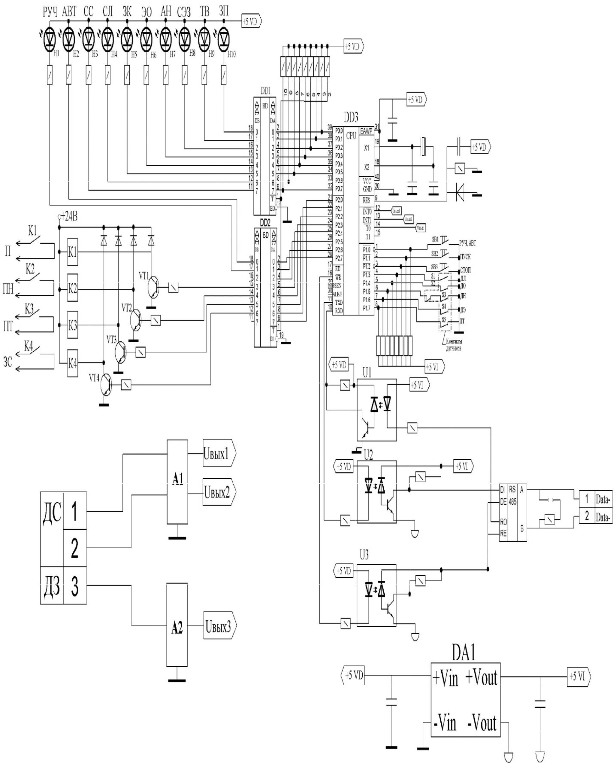 Компьютерная система управления конвейерной линией 3