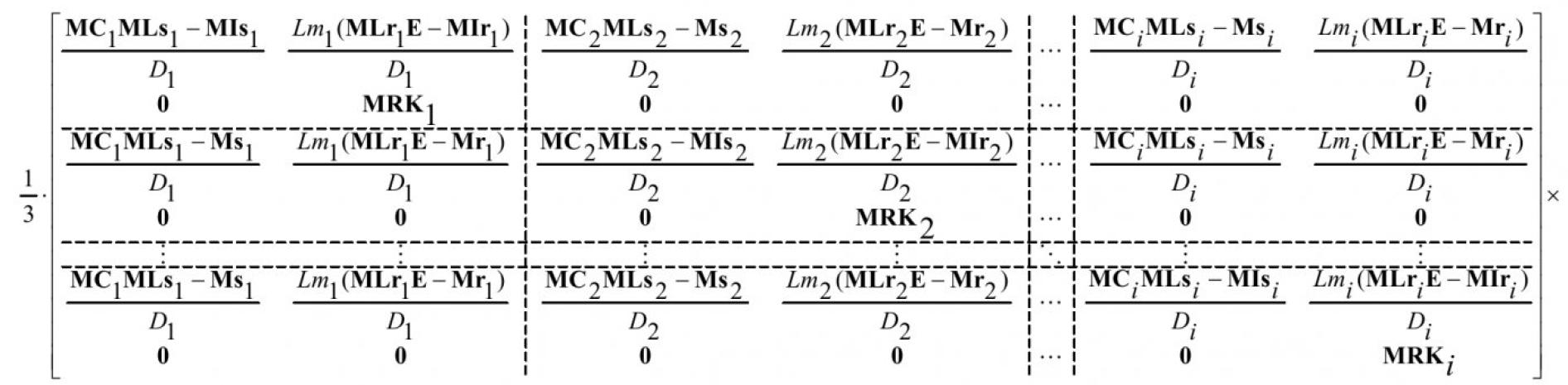 Модель типового модуля системы электроснабжения с коммутационной аппаратурой 5